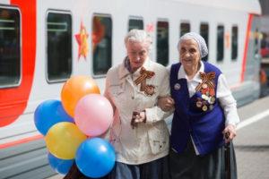 РЖД бесплатно перевозит ветеранов
